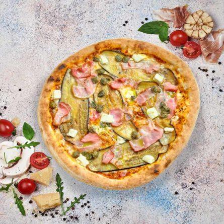 Піца з баклажанами